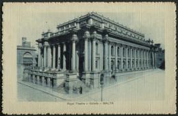 Malta / Valletta - Royal Theatre - Malta