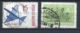 ARGENTINA 1965 (O) USADOS MI-887+891 YT-PA109+722 VARIOS - Usati