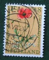 8+4 Ct Zomerzegel Social Welfare Blumen Flowers Fleur NVPH 740 (Mi 748) 1960 VENLO Gestempeld USED NEDERLAND NIEDERLANDE - Gebraucht