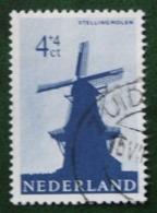 4 + 4 Ct Zomerzegel Summer Sommer Moulin, Molino, Mill NVPH 786 (Mi 794) 1963 Gestempeld / Used NEDERLAND / NIEDERLANDE - Used Stamps