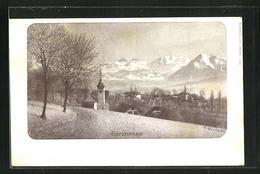 AK Gerzensee, Totalansicht Mit Bergen - BE Berne