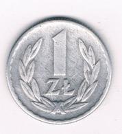 1 ZLOTY 1966 POLEN /6793/ - Polen
