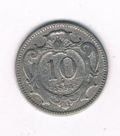 10 HELLER 1894 OOSTENRIJK /6795/ - Autriche