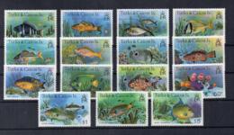 Turks & Caicos Island - 1978 - Pesci - 15 Valori - Nuovi - Linguellati - (FDC16975) - Turks E Caicos
