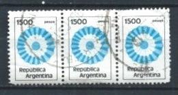ARGENTINA 1981 (O) USADOS MI-1541 YT-1279 NATIOAL COCKADE - Argentina