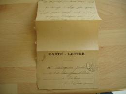 1918 Tresor Et Postes 2 Etoiles Sans Secteur Cachet Franchise Postale Militaire  Guerre 14.18 - Marcophilie (Lettres)