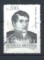 ARGENTINA 1984 (O) USADOS MI-1713 YT-1440 MANUEL BELGRANO - Argentina