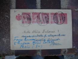 Grece Stationnery Card Repiquage Entier Postal La Premiere Athenes Assurance - Interi Postali