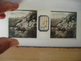 Le Fier A Thones Plaque De Verre Stereo Photo Photographie - Plaques De Verre