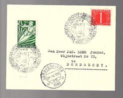 1949 Scheveningen 1949 Reunion De Commissions De Techniques Du CCIF (FG-13) - Covers & Documents