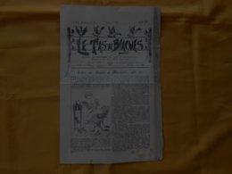 Le Tas De Blagues - Journal Des Prisonniers Du Camp De Schneidemühl 1918 - Journaux - Quotidiens