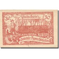 Billet, Autriche, Ruprechtshofen, 30 Heller, Pêcheur, 1921, SPL, Mehl:FS 901 - Autriche