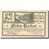 Billet, Autriche, Weyer, 10 Heller, Pont, 1921, 1921-03-31, SPL, Mehl:FS 1175 - Autriche