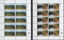 Armenia MNH Pair Of Sheetlets - 1999