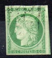 SUPERBE - YT N° 2a Signé Calves - Voisin - Cote: 1150,00 € - 1849-1850 Cérès