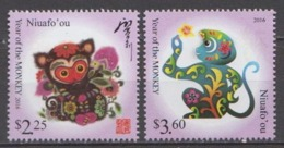 Niuafo'ou MNH Pair From 2015 - Chinese New Year