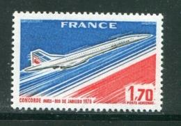 FRANCE- P.A Y&T N°43- Neuf Sans Charnière ** (concorde) - Poste Aérienne