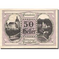 Billet, Autriche, Attnang-Puchheim, 50 Heller, Eglise, 1921 SPL Mehl:FS 61IA1 - Autriche