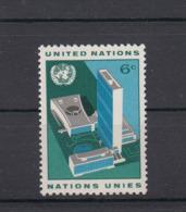 Onu New York 1968 Veduta Della Sede Dell'ONU 181   Mnh - Nuevos