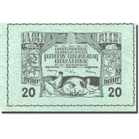Billet, Autriche, Krems An Der Donau, 20 Heller, Animaux, 1920 SUP Mehl:FS 476 - Autriche