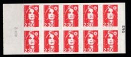 Carnet YT 2630-C1 MARIANNE DE BRIAT 2,30F Neuf ** - Markenheftchen