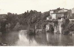 09 - MAZERES SUR L' HERS - Les Ruines Du Pont Vieux Sur L' Hers - Autres Communes