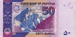Pakistan UNC Banknote, Re.50/-, Yasin Anwar Signature, Year 2014-EC - Pakistan
