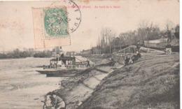 PONT-DE-L'ARCHE:au Bord De La Seine. - Pont-de-l'Arche
