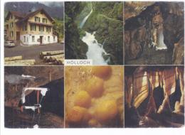 AK-div.27- 133   Hölloch , Muotatal - Karst Höhlensystem - Gasthaus Höllgrotte , Hinterthal - Mehrbild (6) - SZ Schwyz