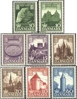 Danimarca 341-348 (completa Edizione) MNH 1953 UK Danimarca - Nuevos