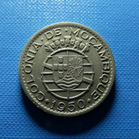Portuguese Moçambique 1 Escudo 1950 - Portogallo