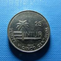 Cuba 25 Centavos 1989 Magnetic - Cuba