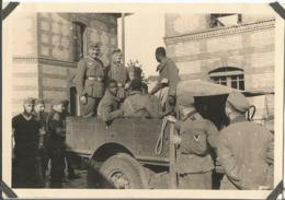 Orig Photo All WW2 : Prisonniers Coloniaux , Tirailleurs Africains . SANNOIS 95 (2 ) - 1939-45