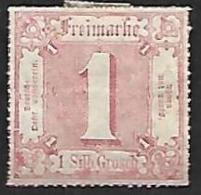 TOUR Et TAXIS 1867 - YT 29 - Percé En Lignes Colorées - NEUF* - Tour Et Taxis