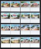 Aruba 2017**, Paar Typische Arubische Häuser, Kakteen / Aruba 2017, MNH, Pair Typical Aruban Houses, Cacti - Sukkulenten