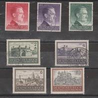 Allemagne ~ Pologne Gouvernement General  1943  N° 112 / 118   Neuf */ Oblitéré = 7 Valeurs - 1939-44: 2ème Guerre Mondiale