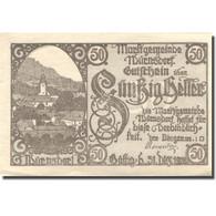 Billet, Autriche, Würnsdorf, 50 Heller, Eglise, 1920 SPL, Mehl:FS 1257IIa - Autriche
