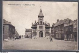Carte Postale 59.  Wavrin  L'hotel De Ville    Trés Beau Plan - France