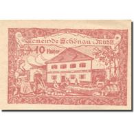 Billet, Autriche, Schönau, 10 Heller, Ferme, 1920, 1920-12-31, SPL, Mehl:FS 966b - Autriche