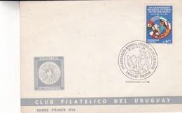 1er CAMPEONATO MUNDIAL JUVENIL DE PELOTA VASCA-FDC 1985 URUGUAY - BLEUP - Stamps
