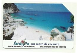 Italia - Tessera Telefonica Da 5.000 Lire N. 285 - 31/12/95 Sardegna - Italia