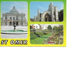 62 SAINT OMER Cpm Multivues - Saint Omer