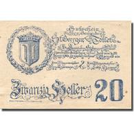 Billet, Autriche, St Georgen, 20 Heller, Château, 1921 SPL Mehl:FS 890 - Autriche