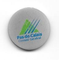 Jeton De Caddie  Département  Conseil  Général  PAS  DE  CALAIS  ( 62 ) - Einkaufswagen-Chips (EKW)