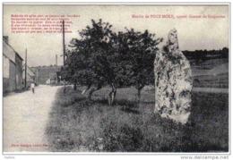 Carte Postale 27.  Port-Mort  Le Menhir Appelé Gravier De Gargantua Trés Beau Plan - Frankreich