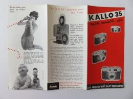 278 - Pub Appareils Photos Kallo  Modèle 35 - Projecteur Kolla 8P -  8mm - Cameras