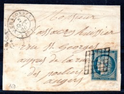 SUPERBE - YT N° 4 Sur Lettre Complète - 1849-1850 Ceres