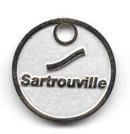 Jeton De Caddie  Ville  SARTROUVILLE  ( 78 ) - Jetons De Caddies