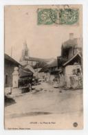 - CPA CULOZ (01) - La Place Du Four - Edition Louis Zimmer - - Autres Communes
