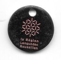 Jeton De Caddie  Ville, Région, La  Région  Languedoc  Roussillon - Jetons De Caddies